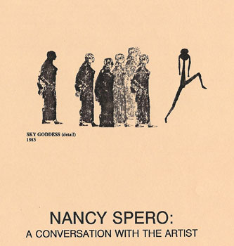 Nancy Spero: A Coversation with the Artist VHS Cover